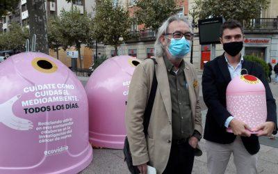 Logroño ubicará cuatro contenedores rosas de Eco Vidrio por el Día Mundial del Cáncer de Mama